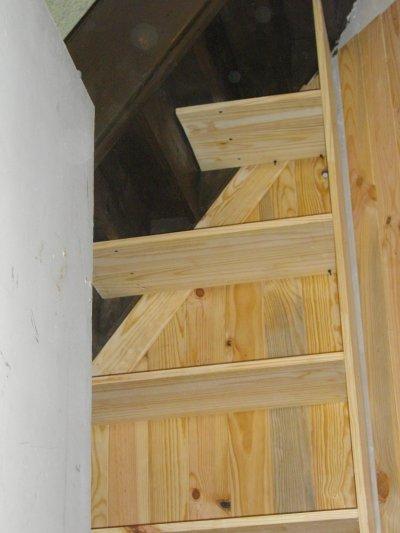 Etagere sous escalier en court blogue de maisontititne - Etageres sous escalier ...