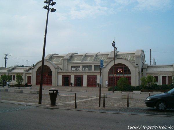Gare de lens le petit train ho for Exterieur quai gare de l est